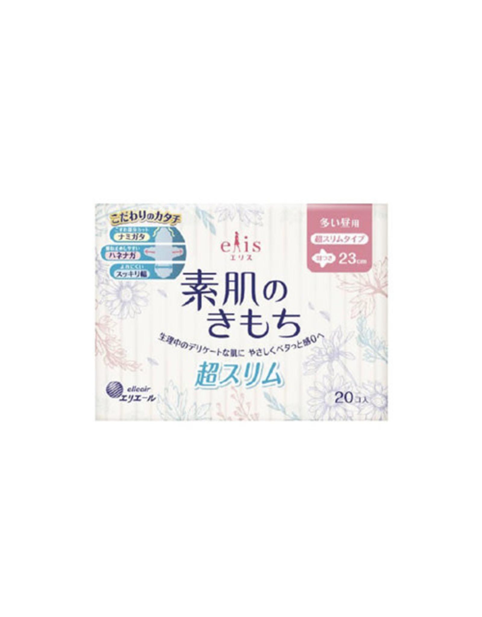 Elleair Elis Megami Sanitary Napkin Slim Heavy Daytime W/Wing 23Cm/20Pcs