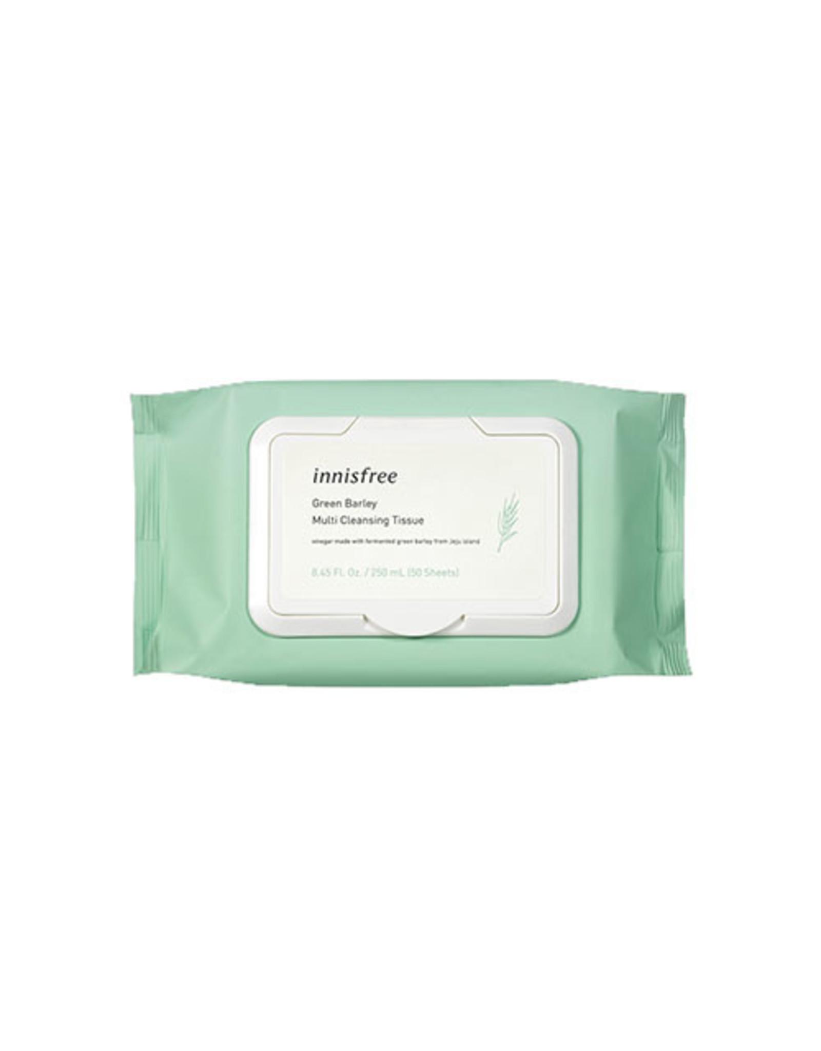 Innisfree Innisfree Green Barley Multi Cleansing Tissue 50sheets