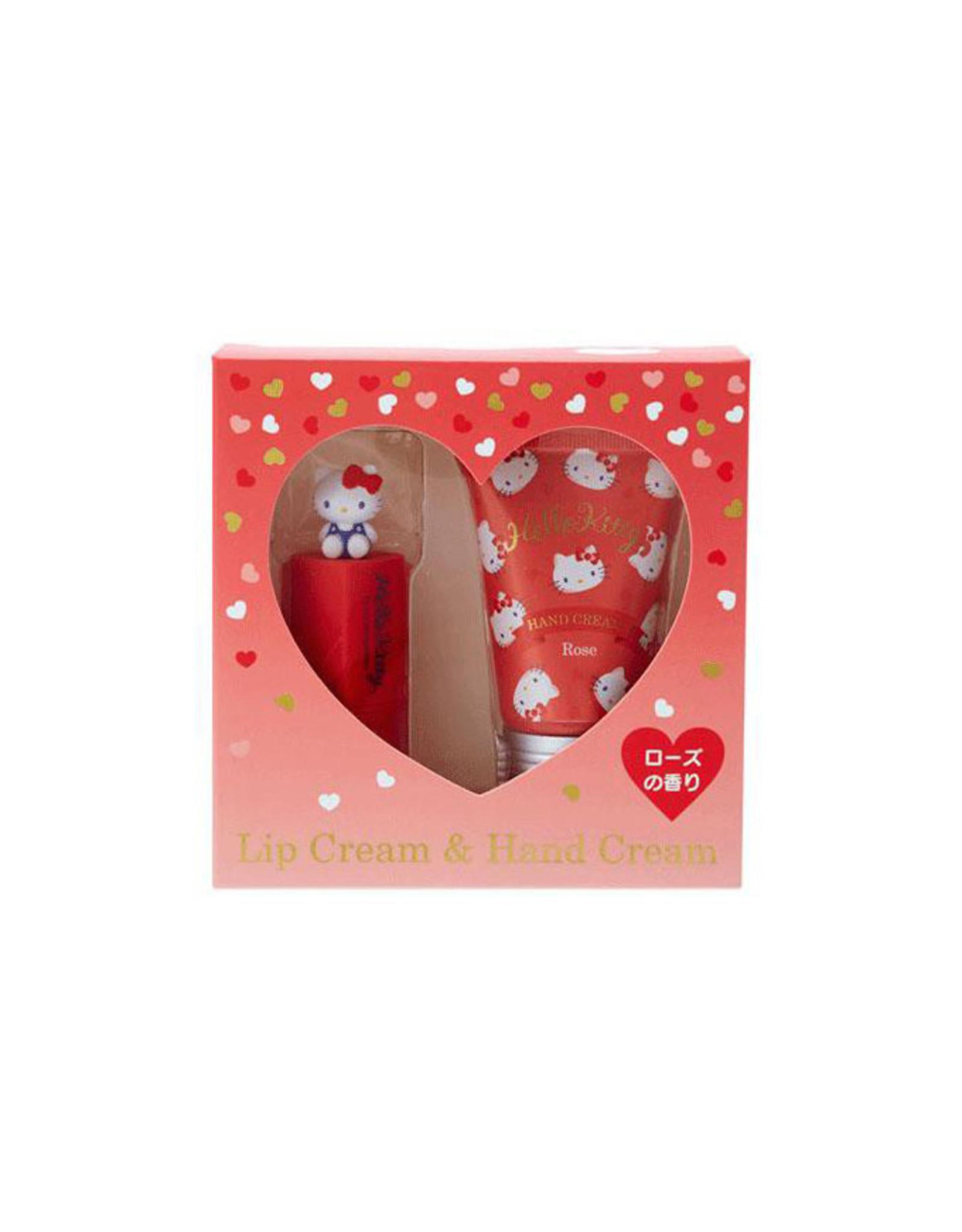 Sanrio Sanrio Hello Kitty Lip Balm & Hand Cream Set - Rose flavor
