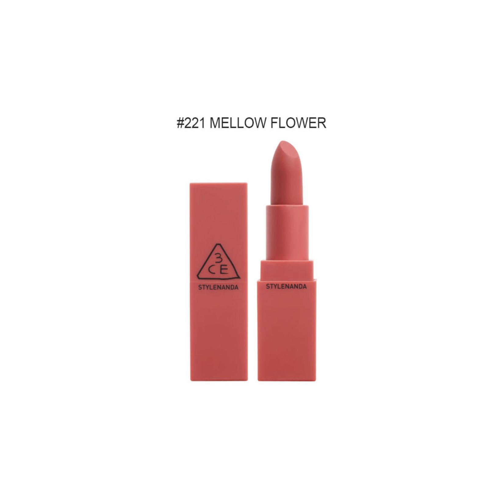 3CE 3CE Matte Lip Color #221 Mellow Flower