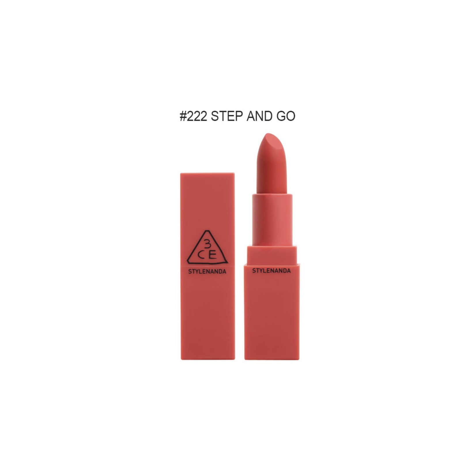 3CE 3CE Matte Lip Color #222 Step And Go