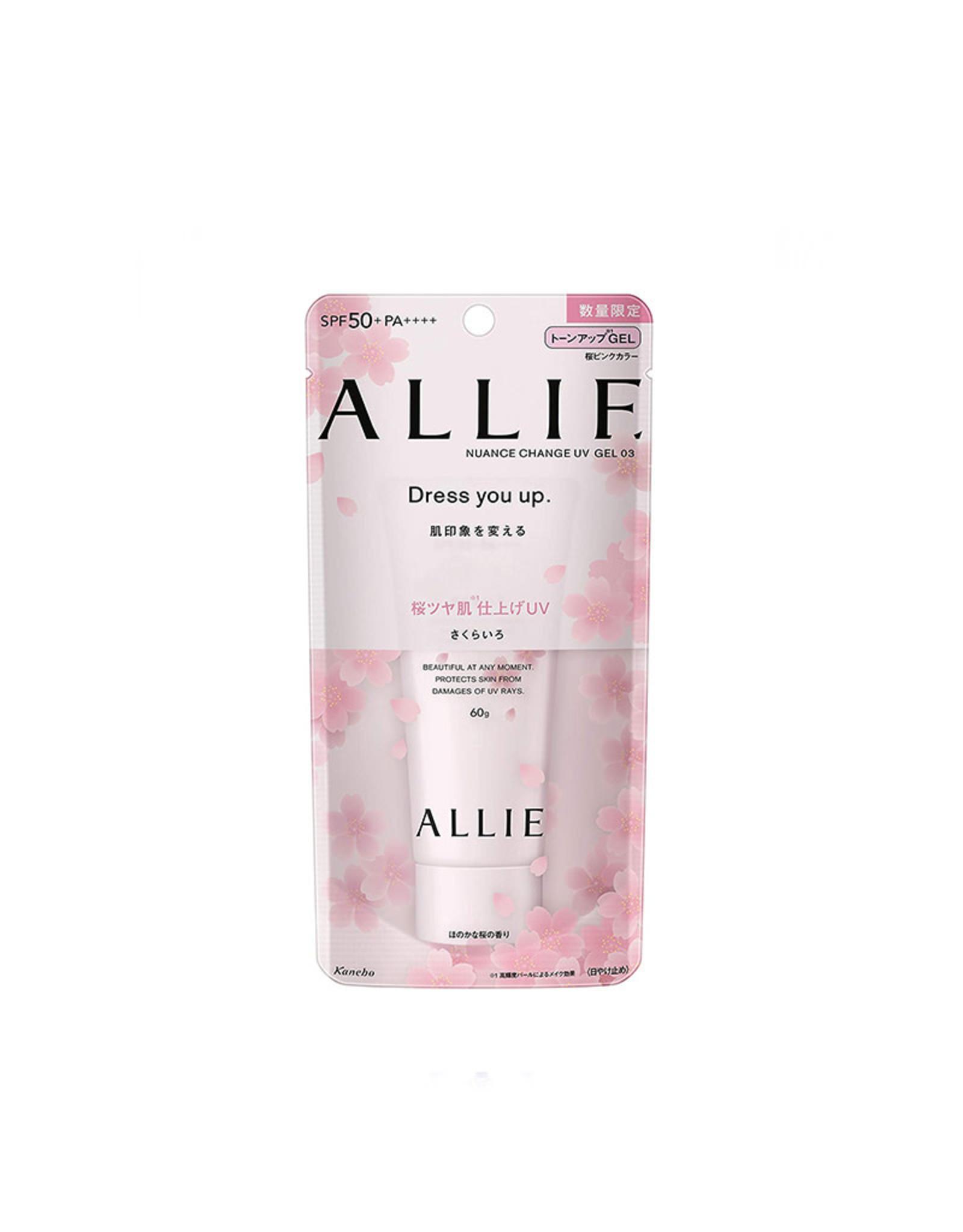 Kanebo Allie Nuance Change Gel Spf50+ PA++++Sakura Limited