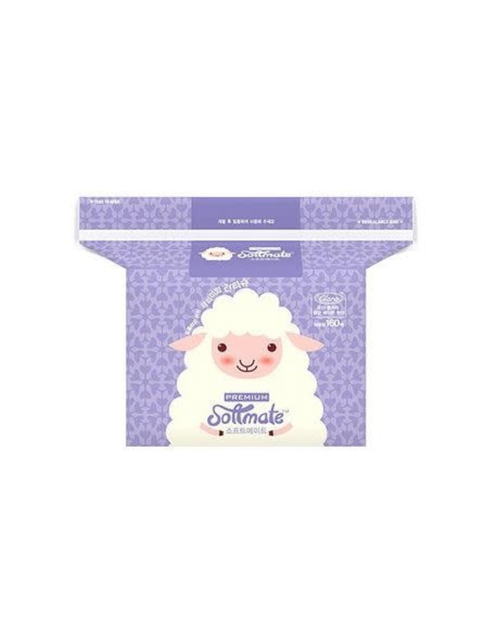 Softmate Premium Nature Dry Tissue 160pcs