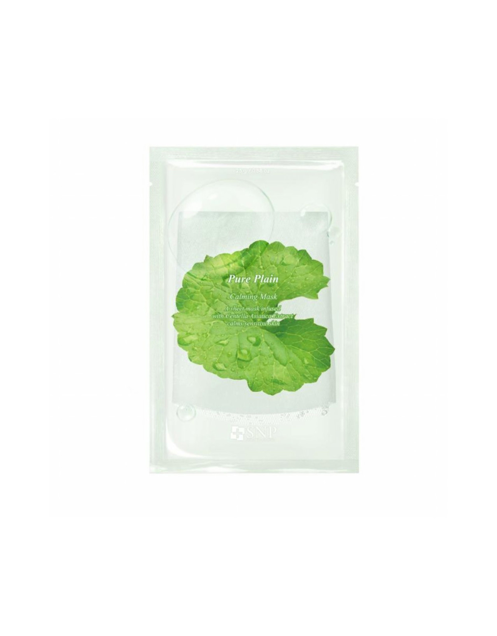 SNP SNP Pure Plain Calming Mask 1 Sheet
