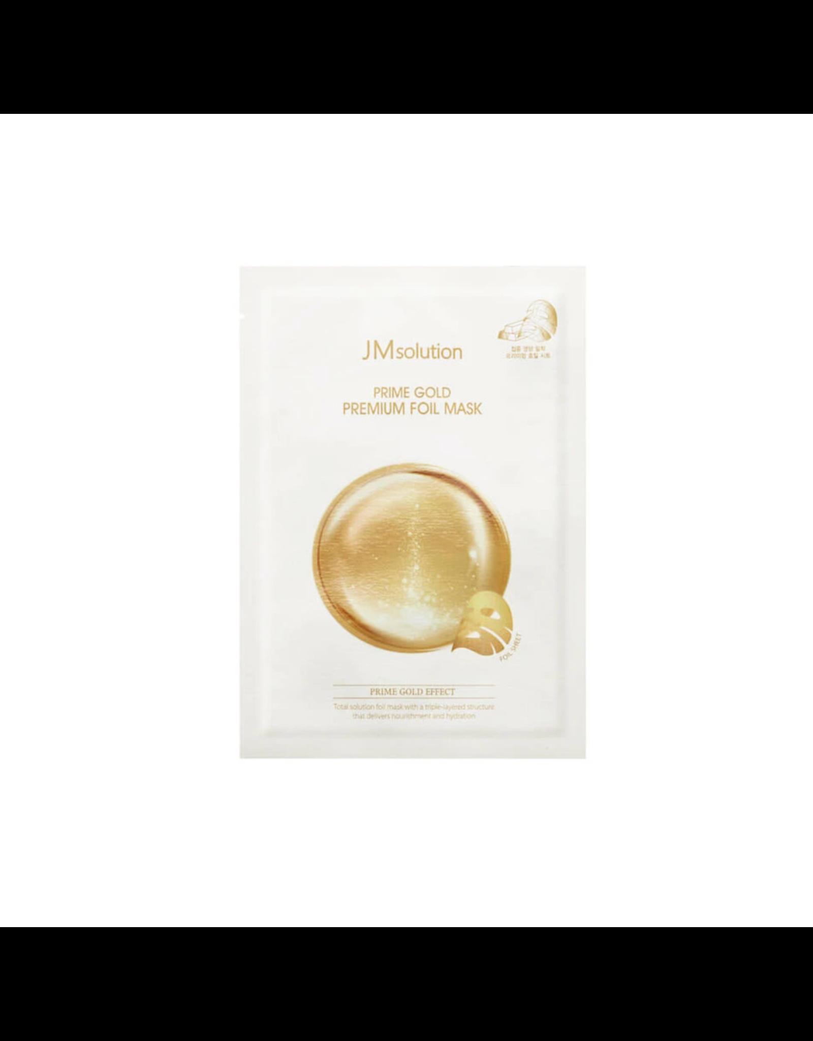 JM Solution JM Solution Prime Gold Premium Foil Mask 1 Sheet