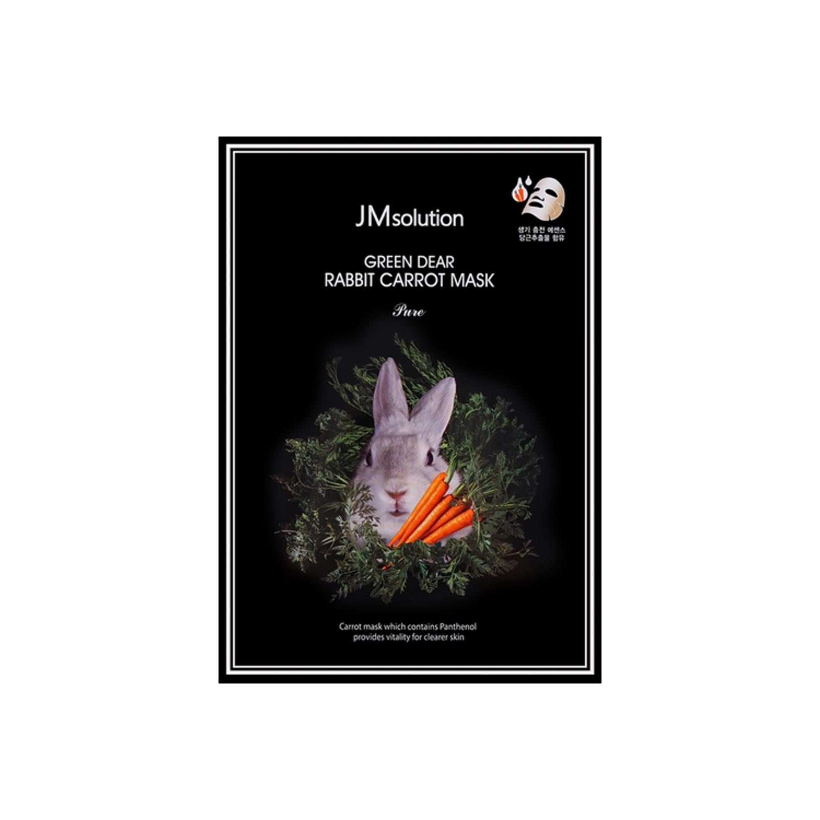 JM Solution JM Solution Green Deer Rabbit Pure Carrot Mask 1 Sheet