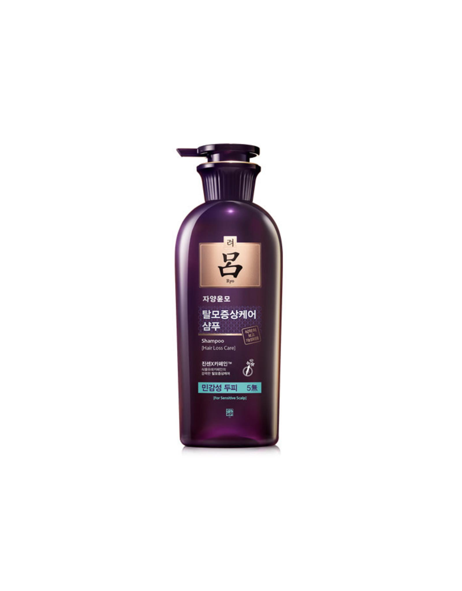 Ryo Ryo Jayangyunmo Hair Loss Shampoo 400ml Sensitive Scalp