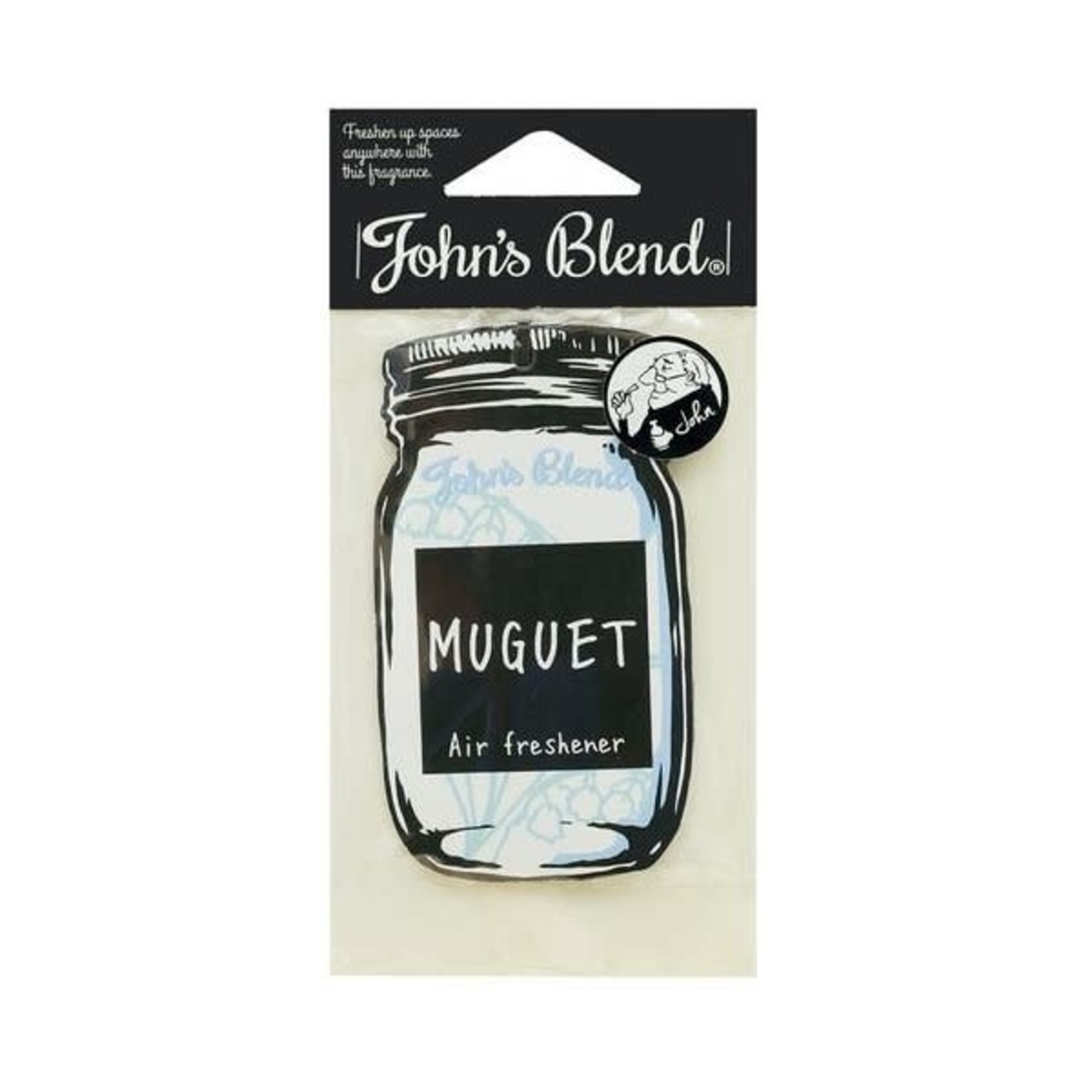 Nol John's Blend Air Freshener Muguet