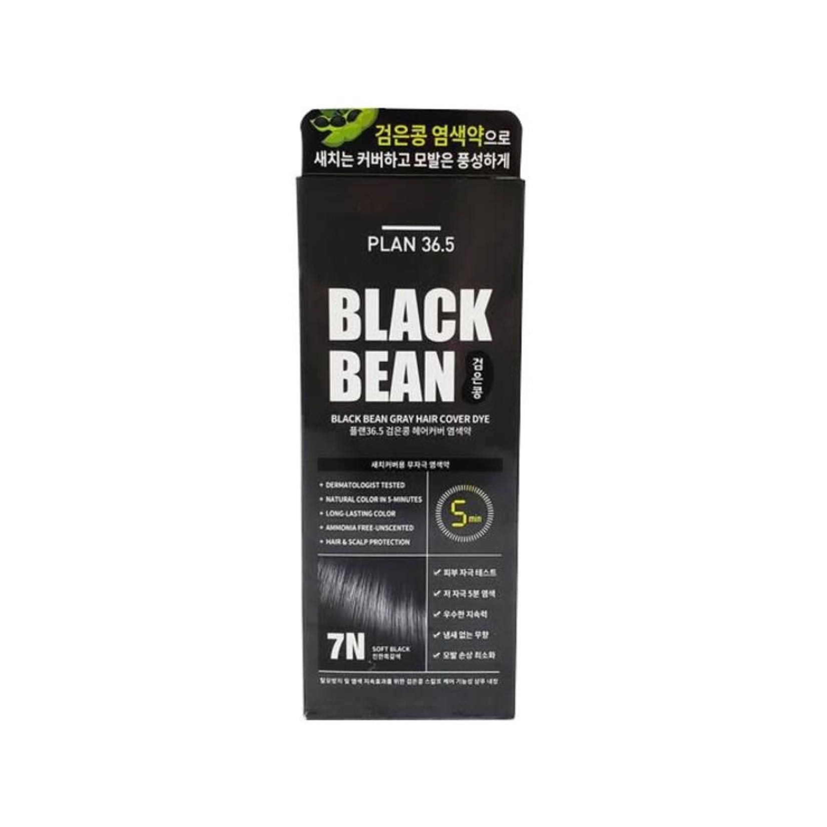 Plan 36.5 Plan 36.5 Black Bean Gray Hair Cover Dye #7N