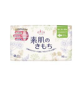 Elleair Elleair Elis Megami Sanitary Napkin Very Heavy Daytime W/Wing 16P