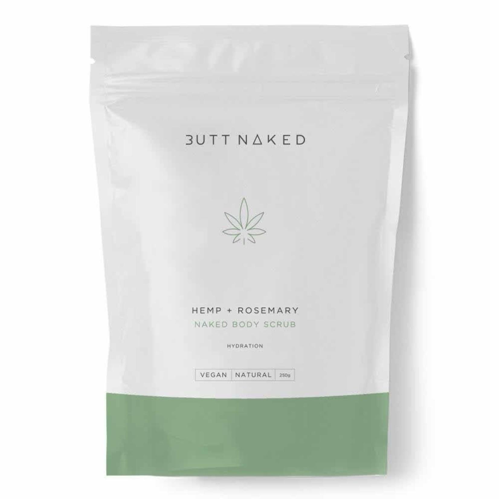 Butt Naked Butt Naked Natural Body Scrub Hemp & Rosemary