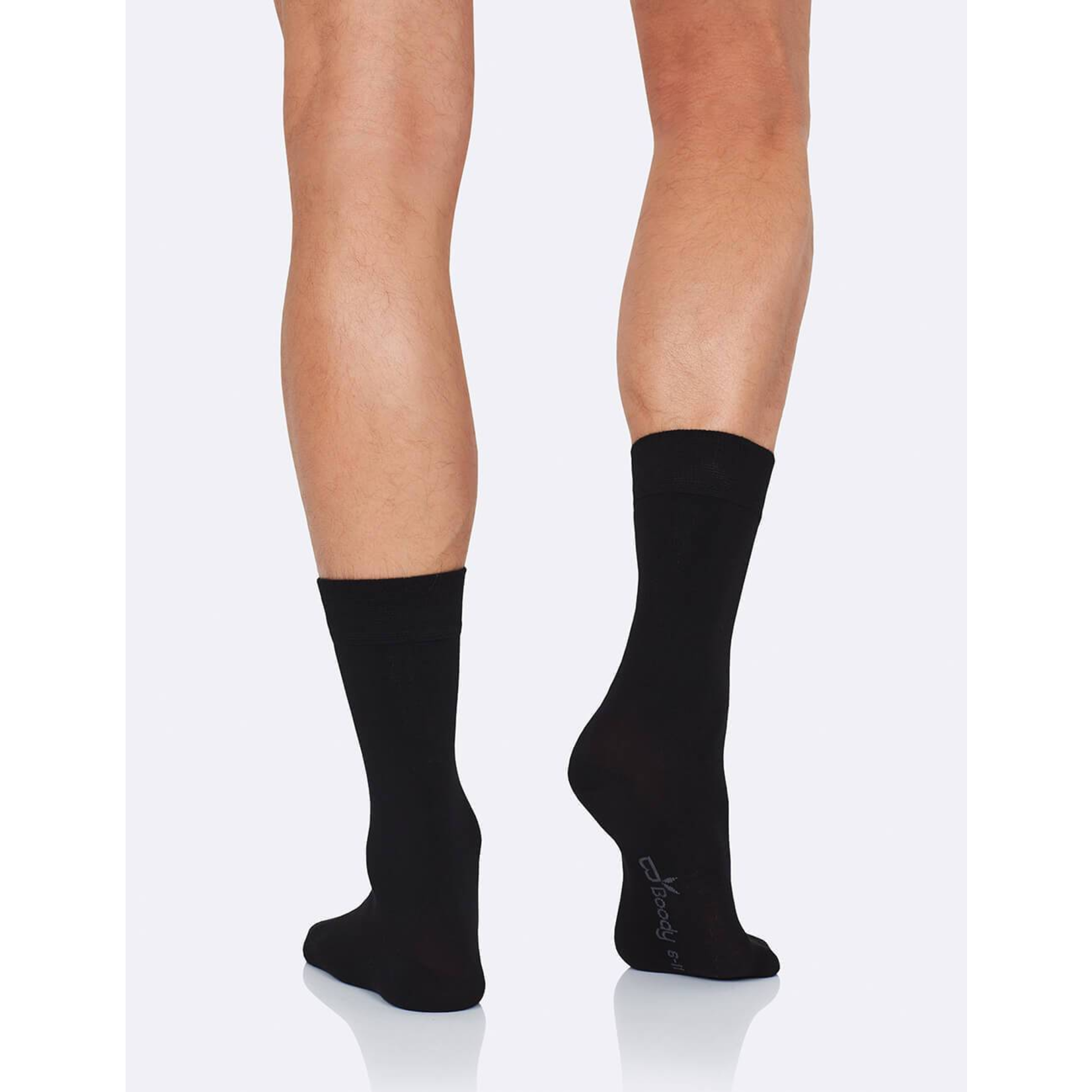 Boody Boody Men's Business Socks Black