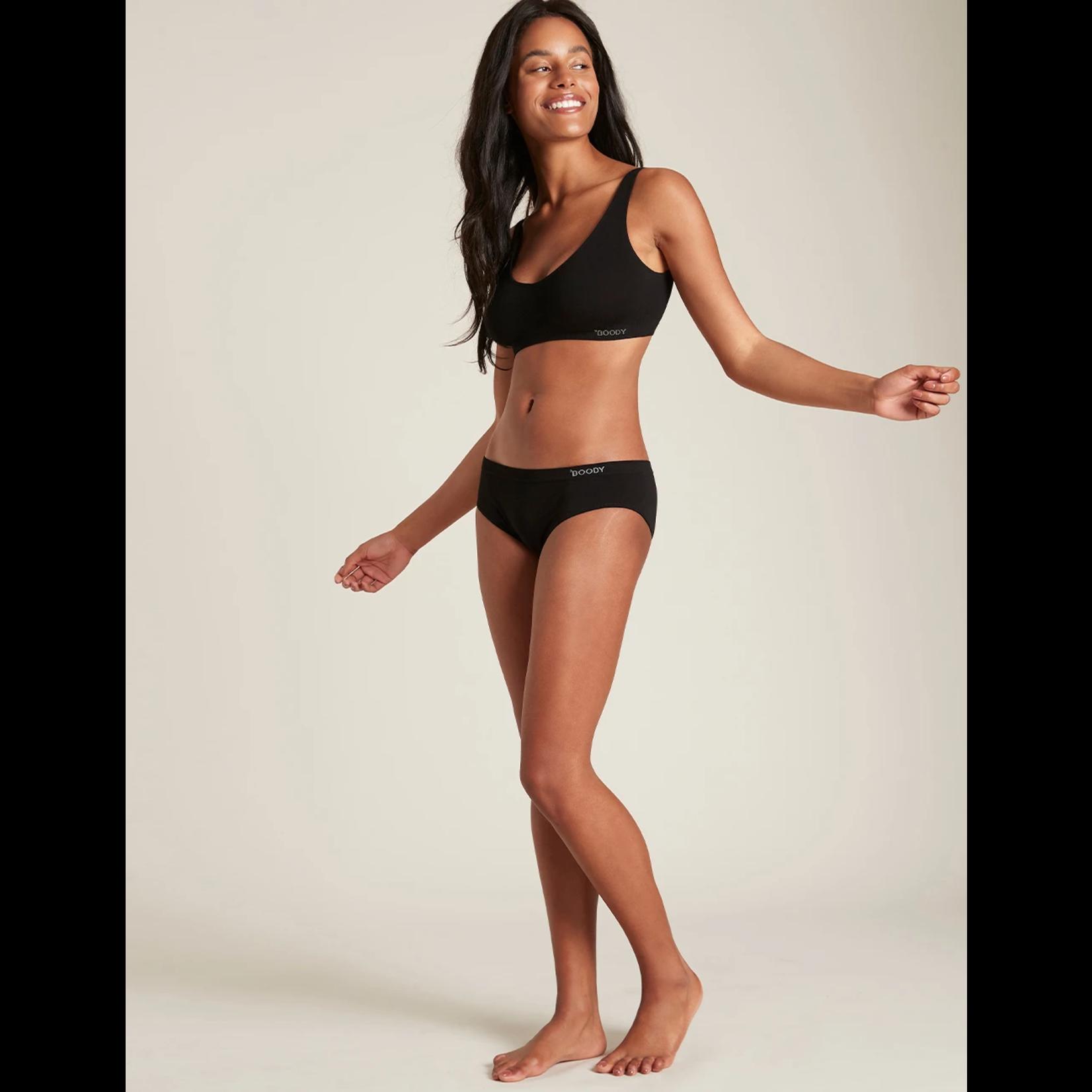 Boody Boody Women's Hipster Bikini Black