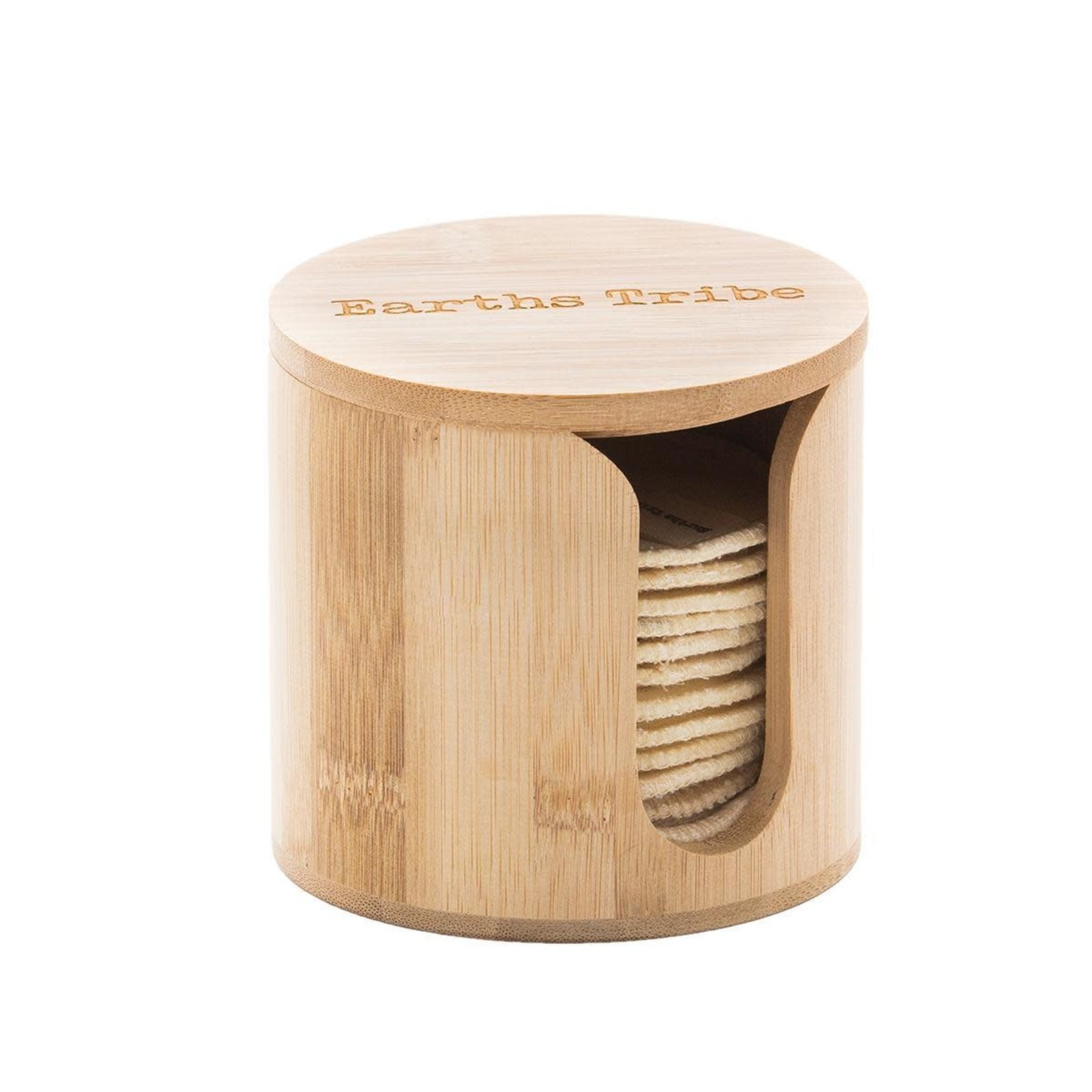 Earths Tribe Earths Tribe Bamboo Make up Pad Holder