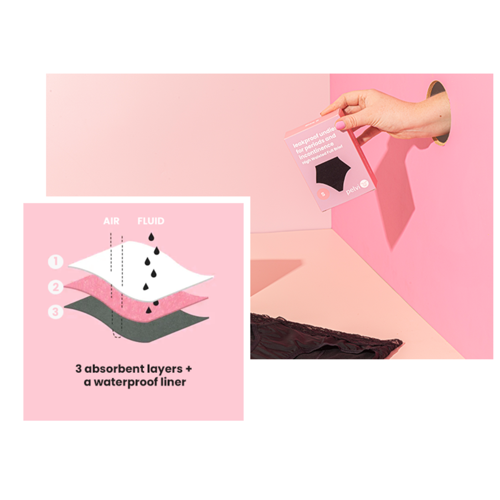Pelvi Pelvi Leakproof Underwear G-String