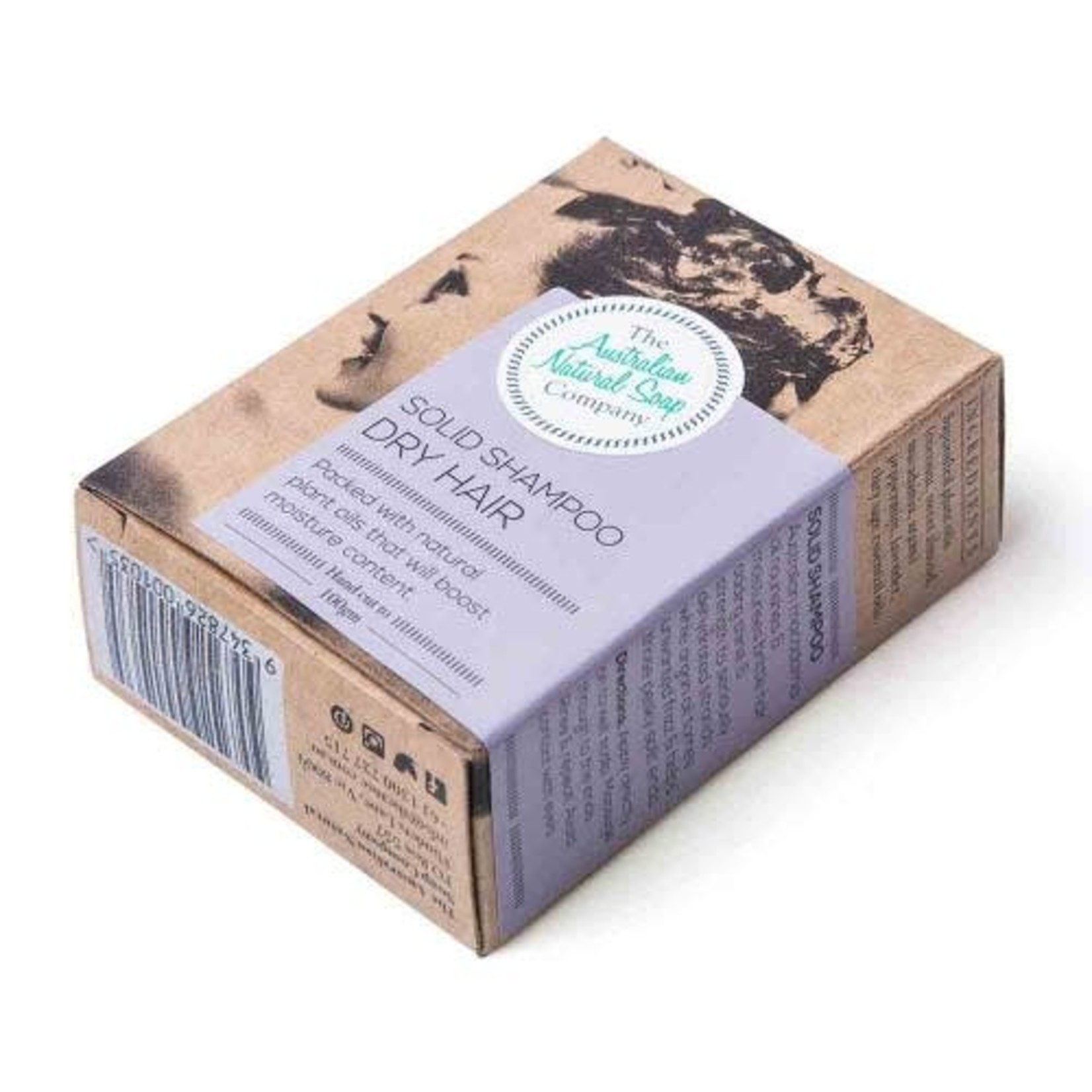The Australian Natural Soap Company The Australian Natural Soap Company Shampoo Bar Dry Hair