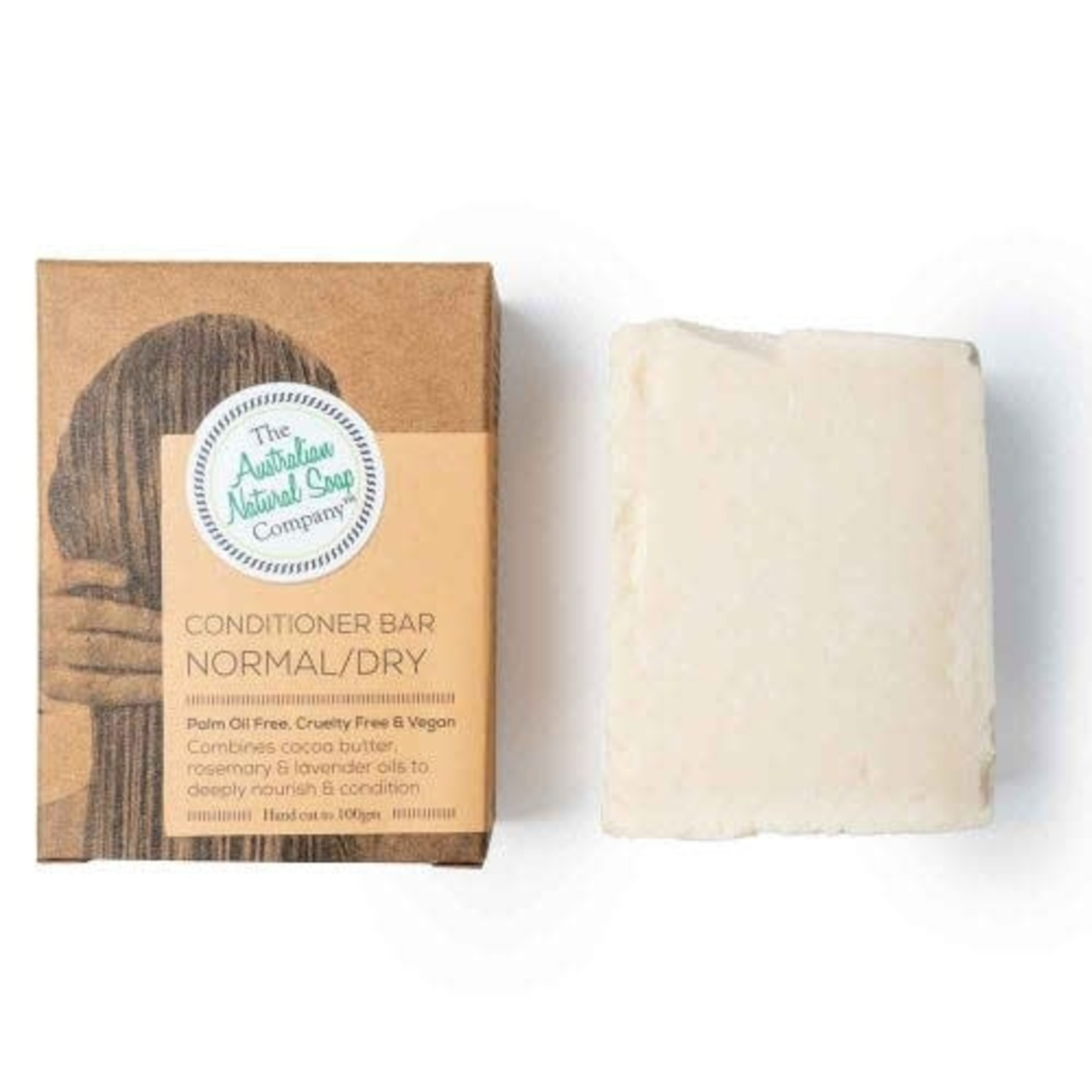 The Australian Natural Soap Company The Australian Natural Soap Company Conditioner Bar Normal/Dry
