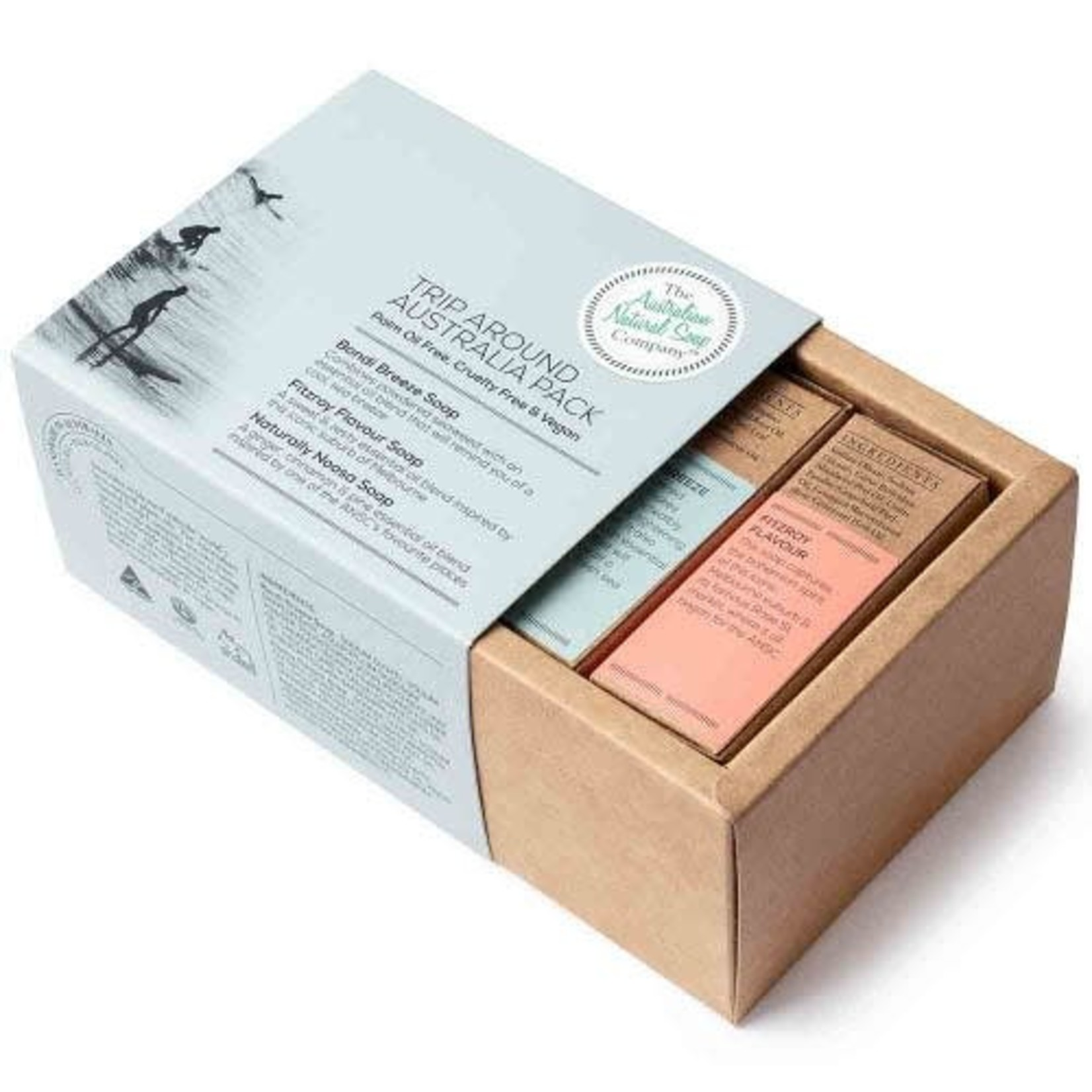 The Australian Natural Soap Company The Australian Natural Soap Company Trip Around Australia  Gift Pack 3