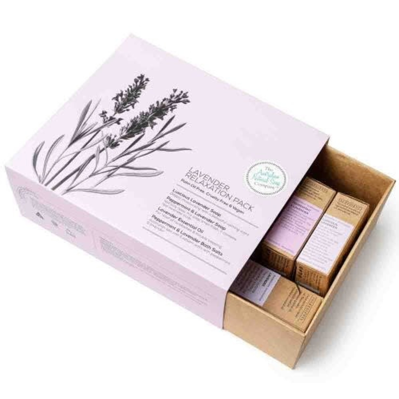 The Australian Natural Soap Company The Australian Natural Soap Company Lavender Relaxation Gift Pack