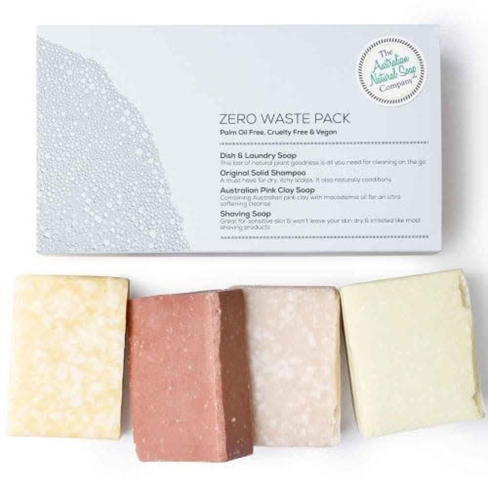 The Australian Natural Soap Company The Australian Natural Soap Company Zero Waste  Gift Pack