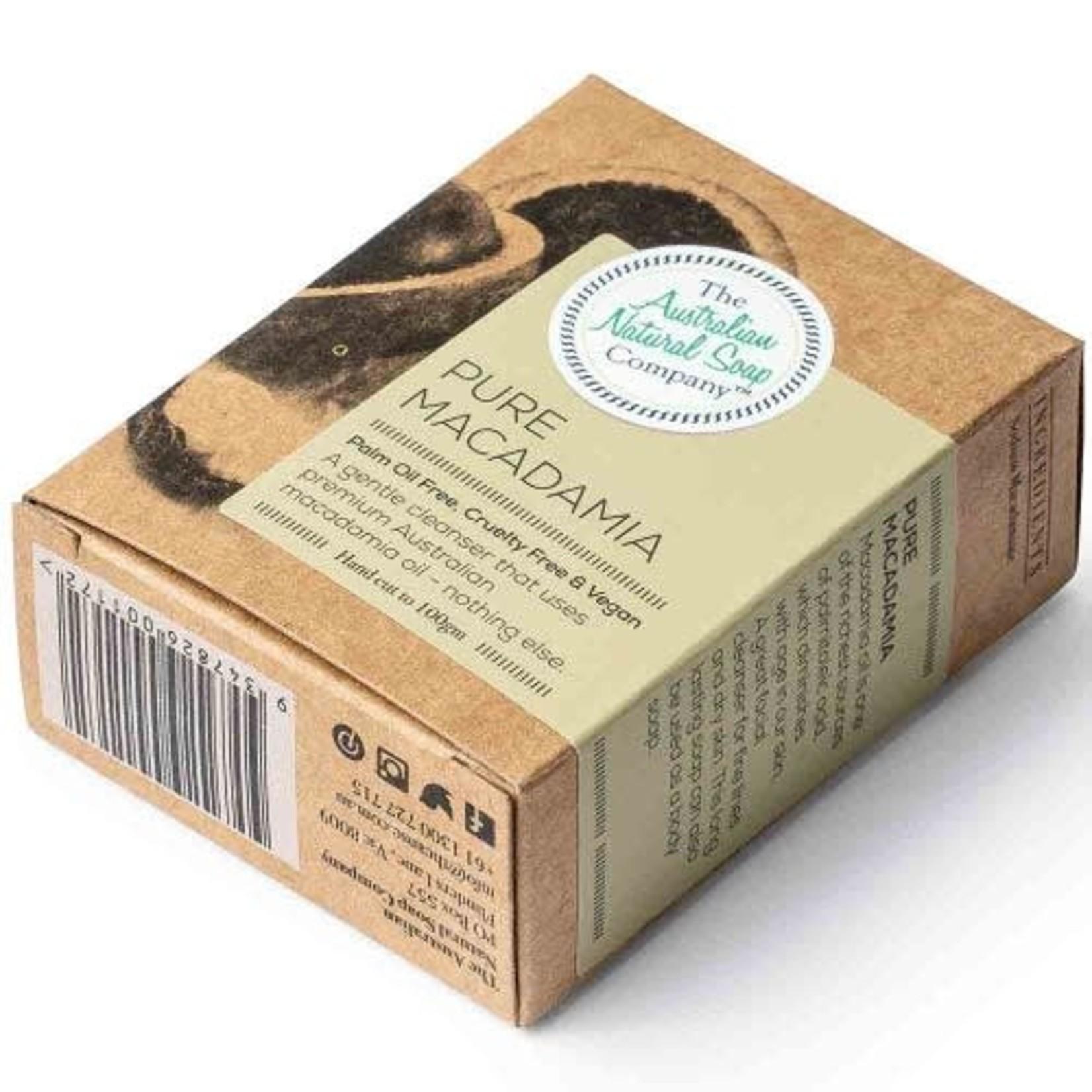 The Australian Natural Soap Company The Australian Natural Soap Company Pure Macadamia