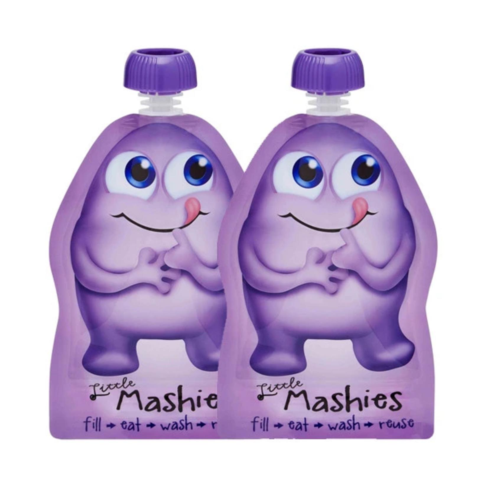 Little Mashies Little Mashies Reusable Squeeze Pouch 2pk