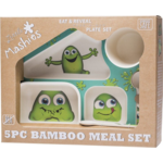 Little Mashies Biodegradable Bamboo Meal Set 5pc