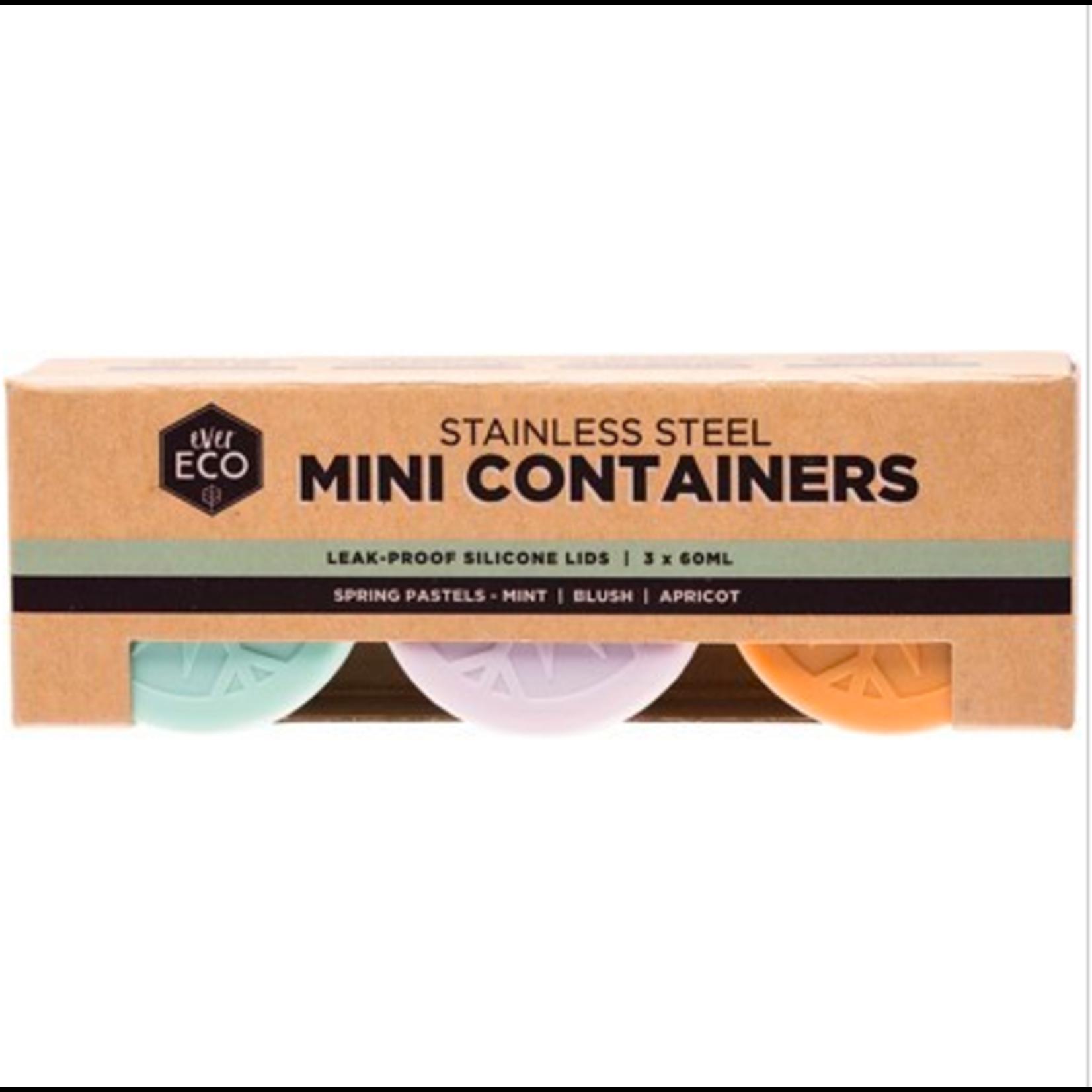 Ever Eco Ever Eco Mini Containers 3pk