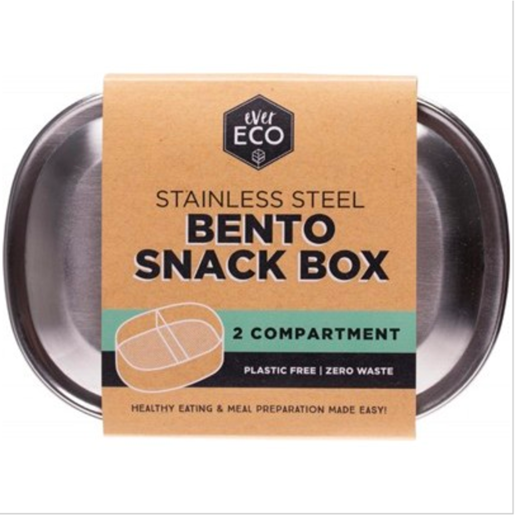 Ever Eco Ever Eco Bento Box 2 Compartment