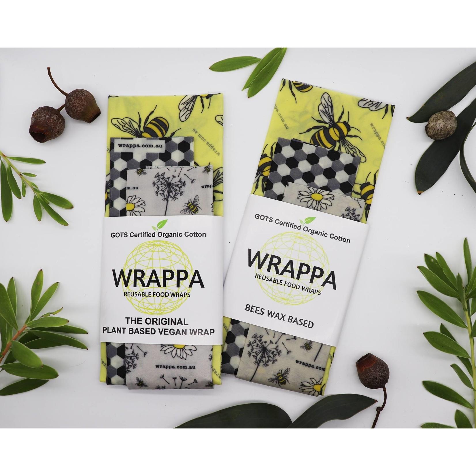 Wrappa Wrappa Plant Based Vegan Wrap 3pk