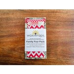 WaxiWraps Waxiwraps Family 4 Pack