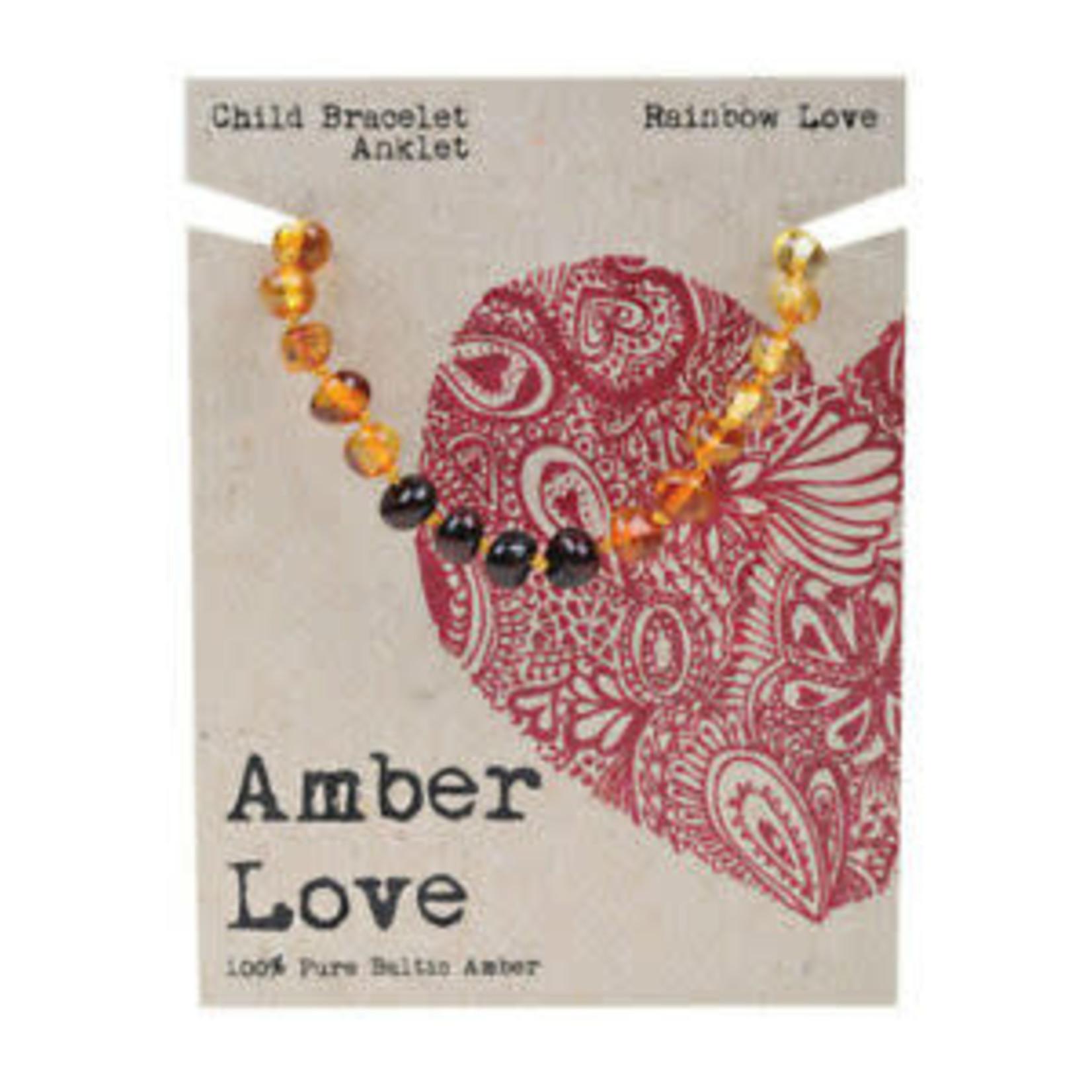 Amber Love Amber Love Teething Bracelet/Anklet 14cm