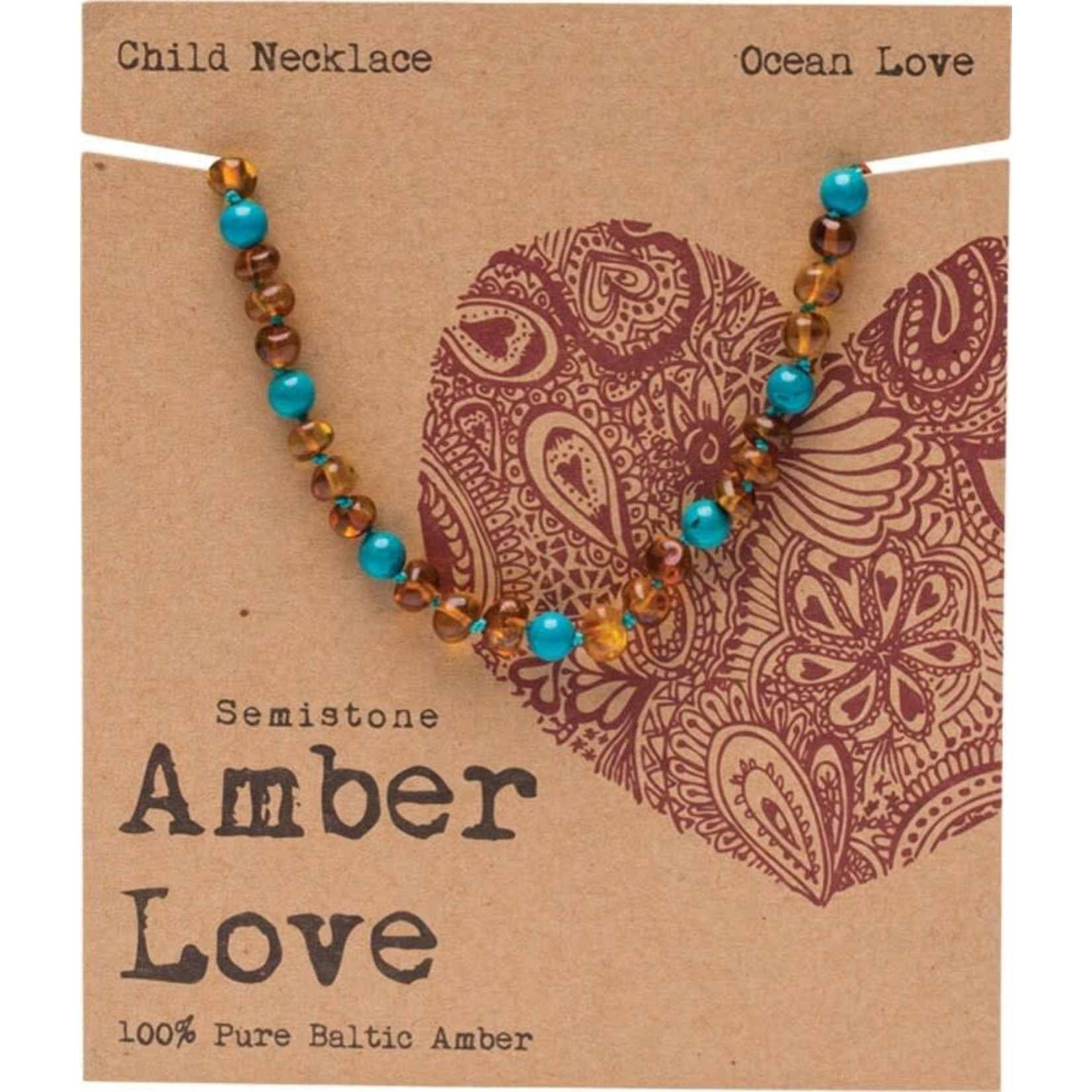 Amber Love Amber Love Teething Necklace 33cm