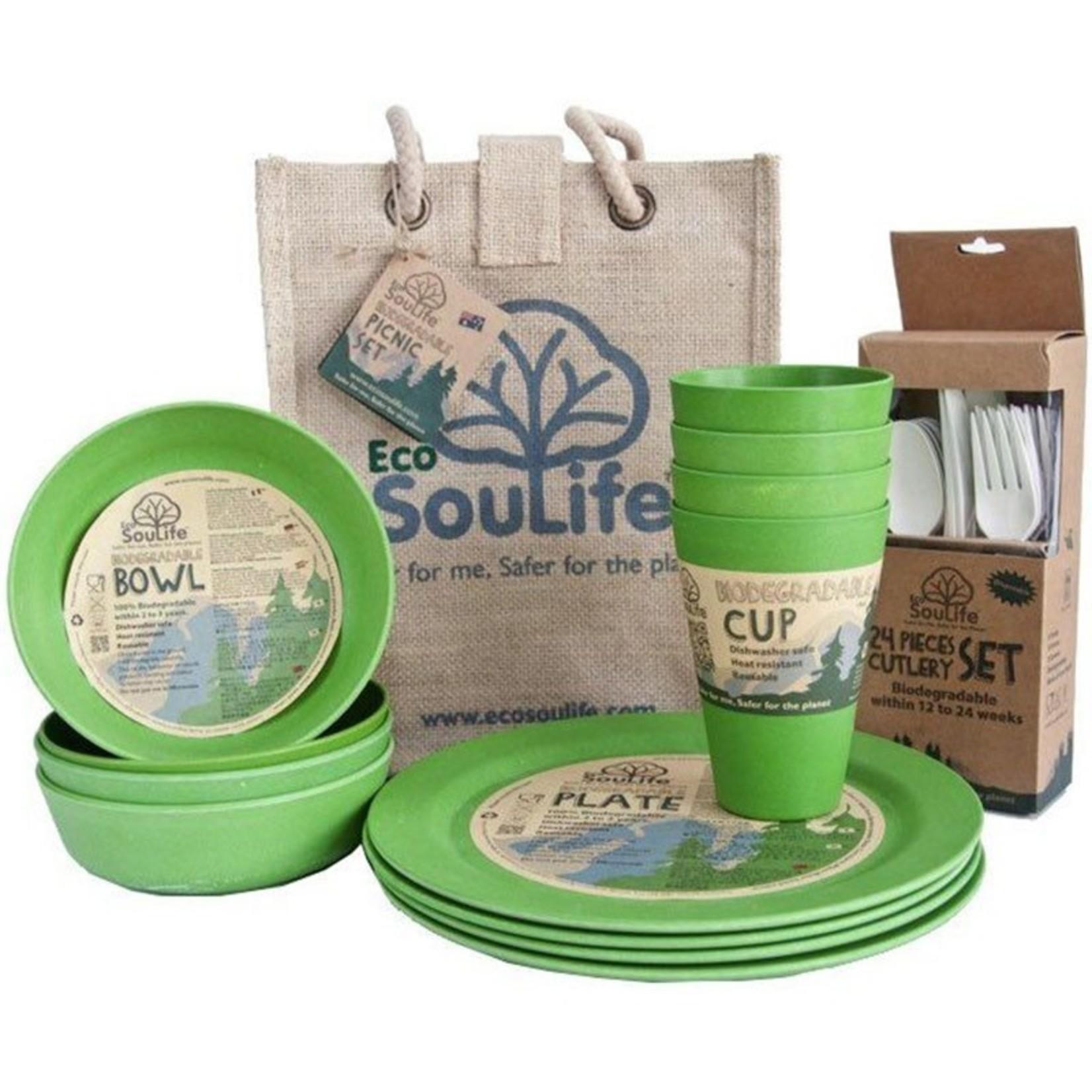 EcoSoulife EcoSoulife Picnic Set 37pcs