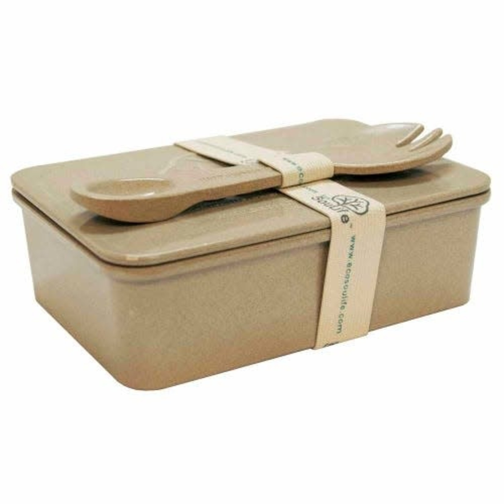 EcoSoulife EcoSoulife Rice Husk Box & Spork set