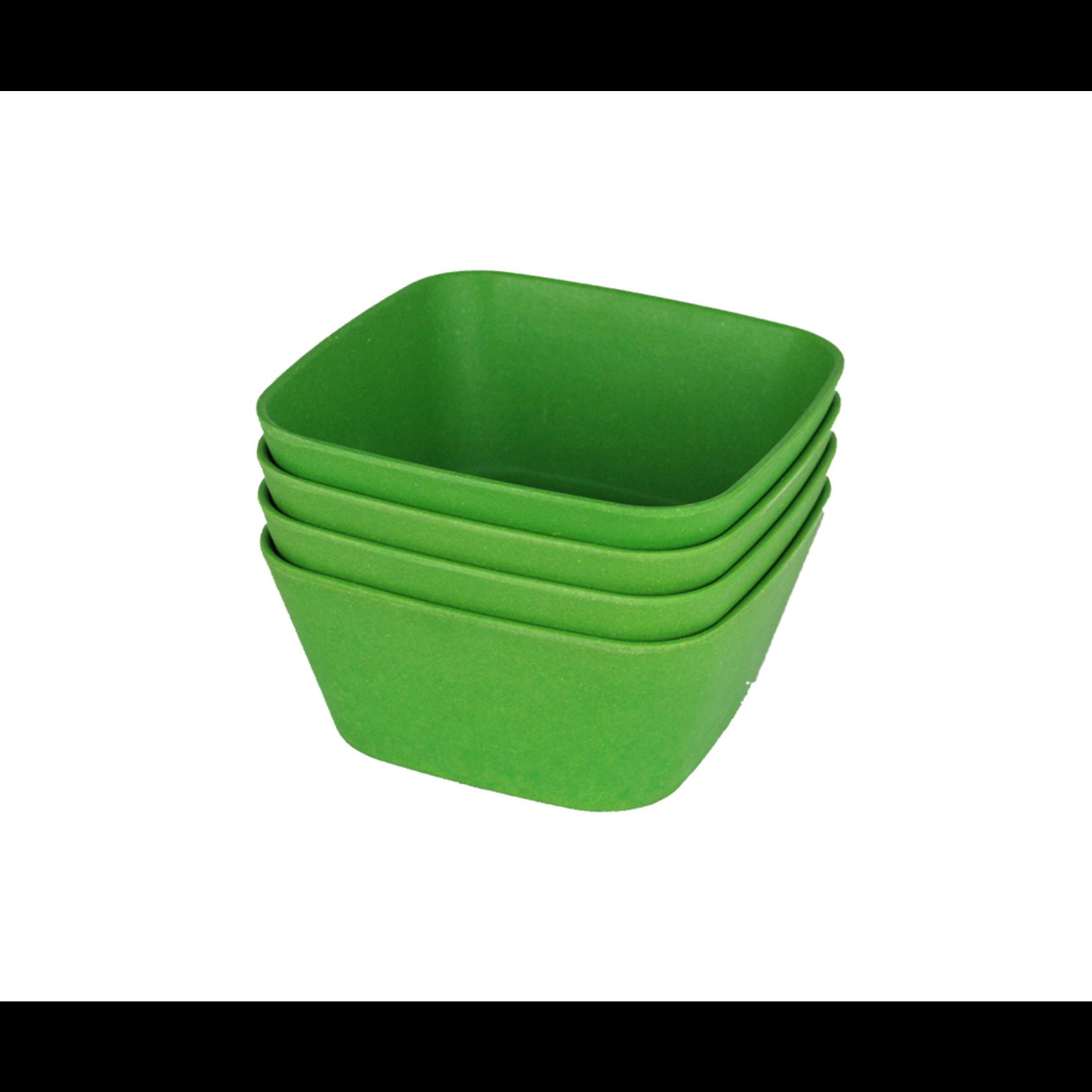 EcoSoulife EcoSoulife 4pc Square Bowl Set