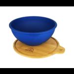 EcoSoulife EcoSoulife salad bowl 1183ml blue