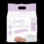 Luvme Luvme Panda Bamboo Disposable Nappies Size 1 Newborn 22pk