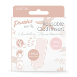 Luvme Pandas by Luvme Bamboo Cloth Nappy DAY Insert
