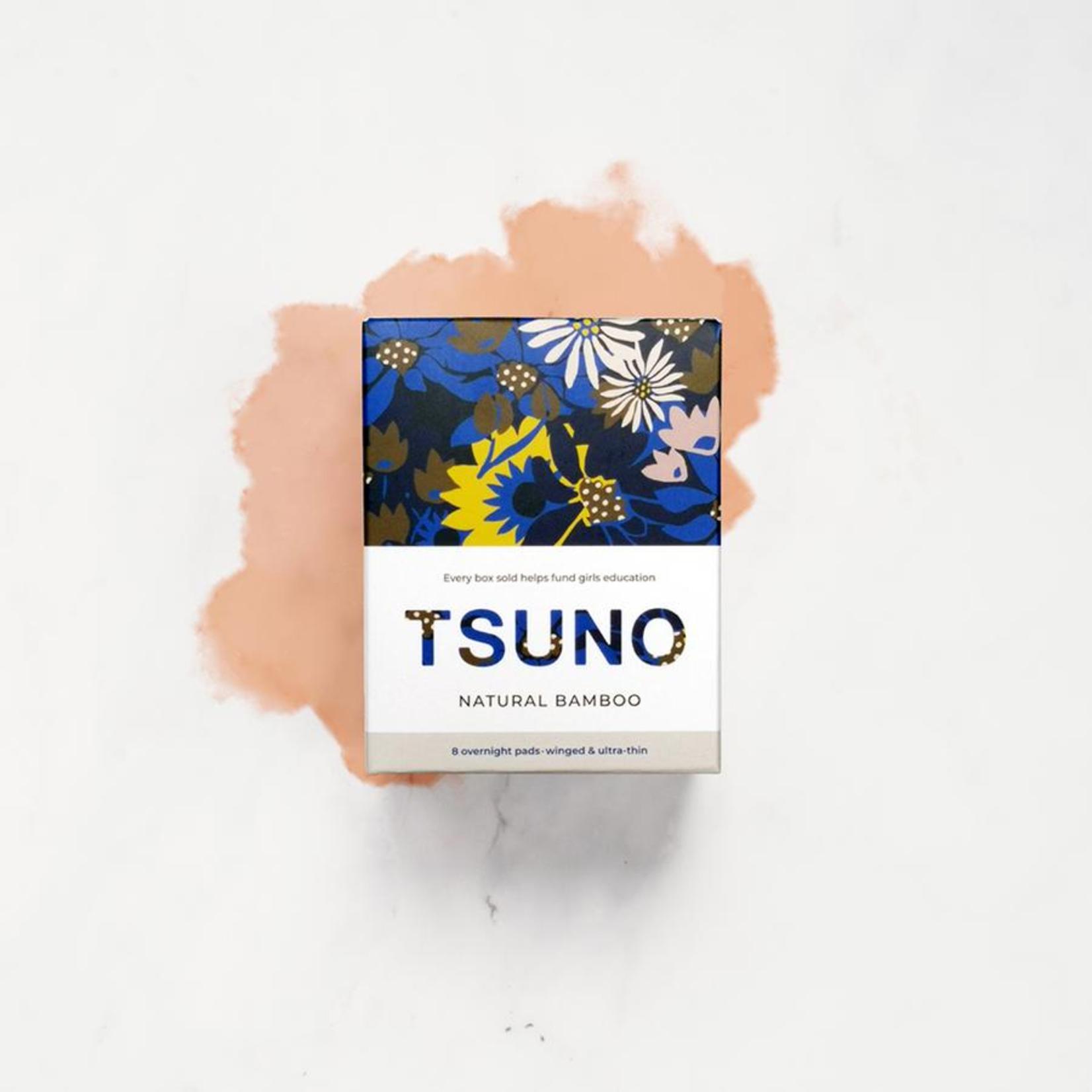 Tsuno Tsuno Overnight Pads 8Pk