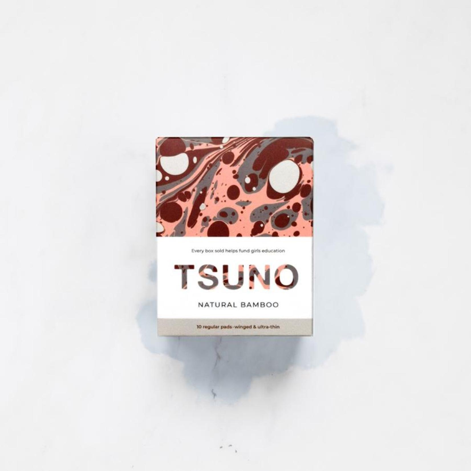 Tsuno Tsuno Bamboo Regular Pads 10pk