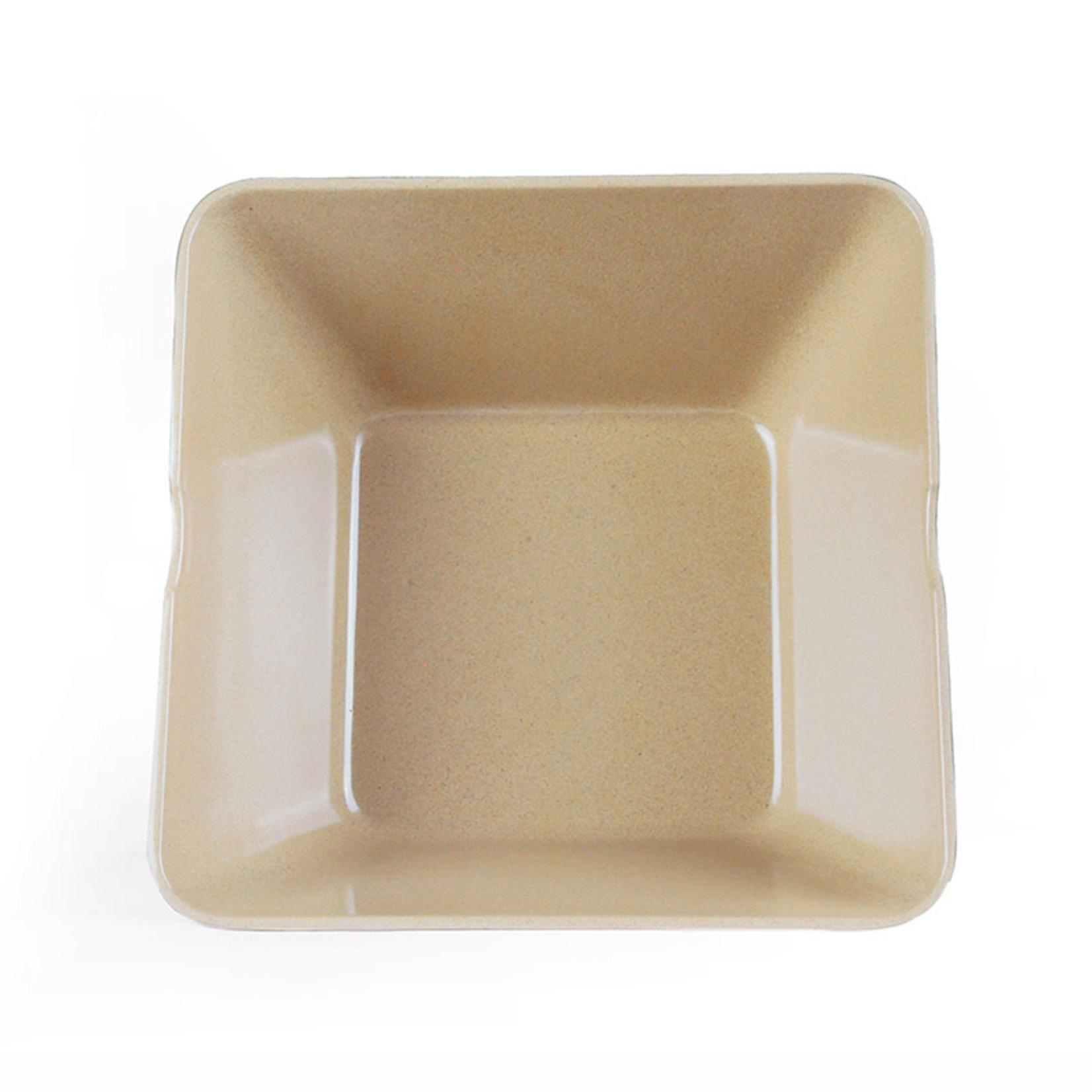 EcoSoulife EcoSoulife Husk Square Bowl