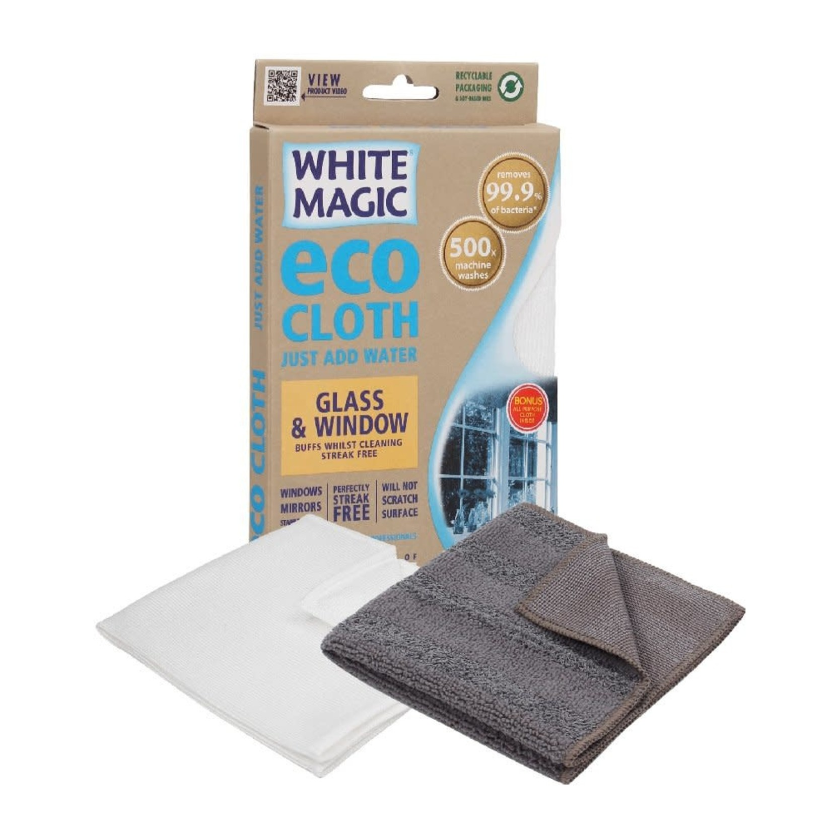 White Magic White Magic Eco Cloth Glass & Window