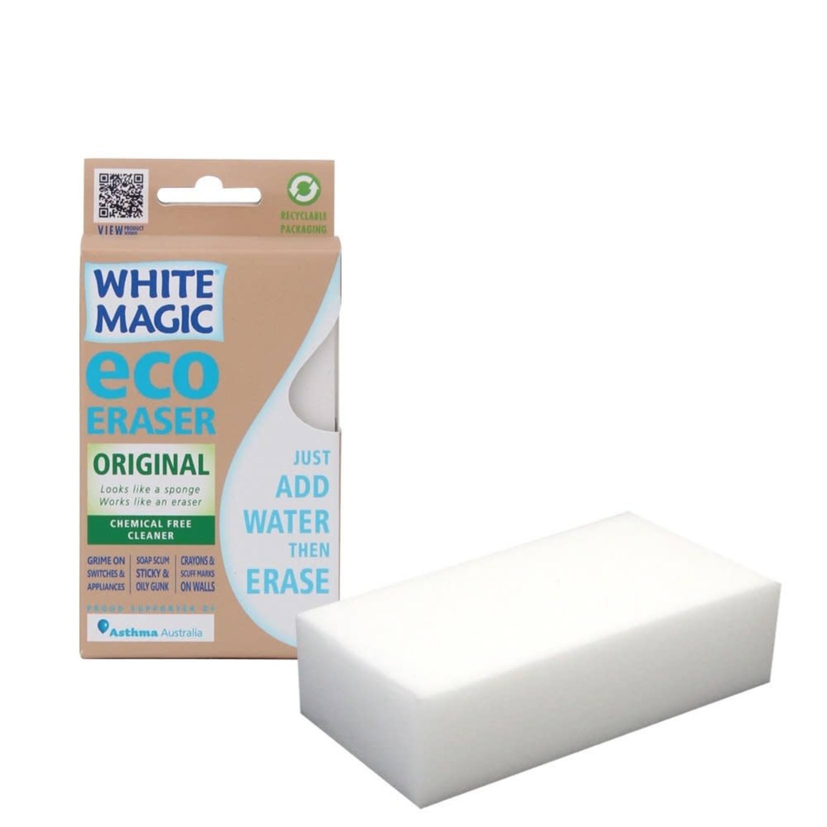 White Magic White Magic Eco Eraser Sponge - Standard