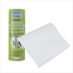 White Magic White Magic Bamboo Towel Scrub Dots