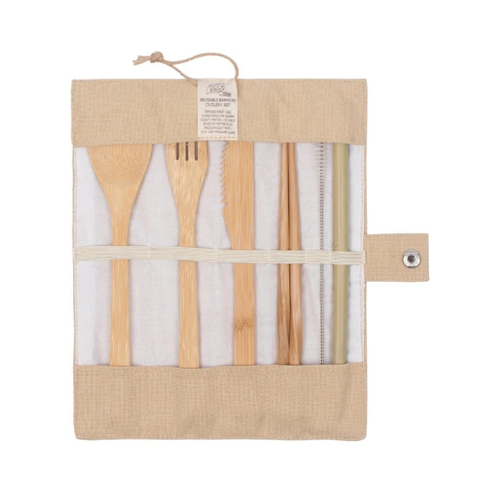 Eco Basics Eco Basics Bamboo Cutlery Set
