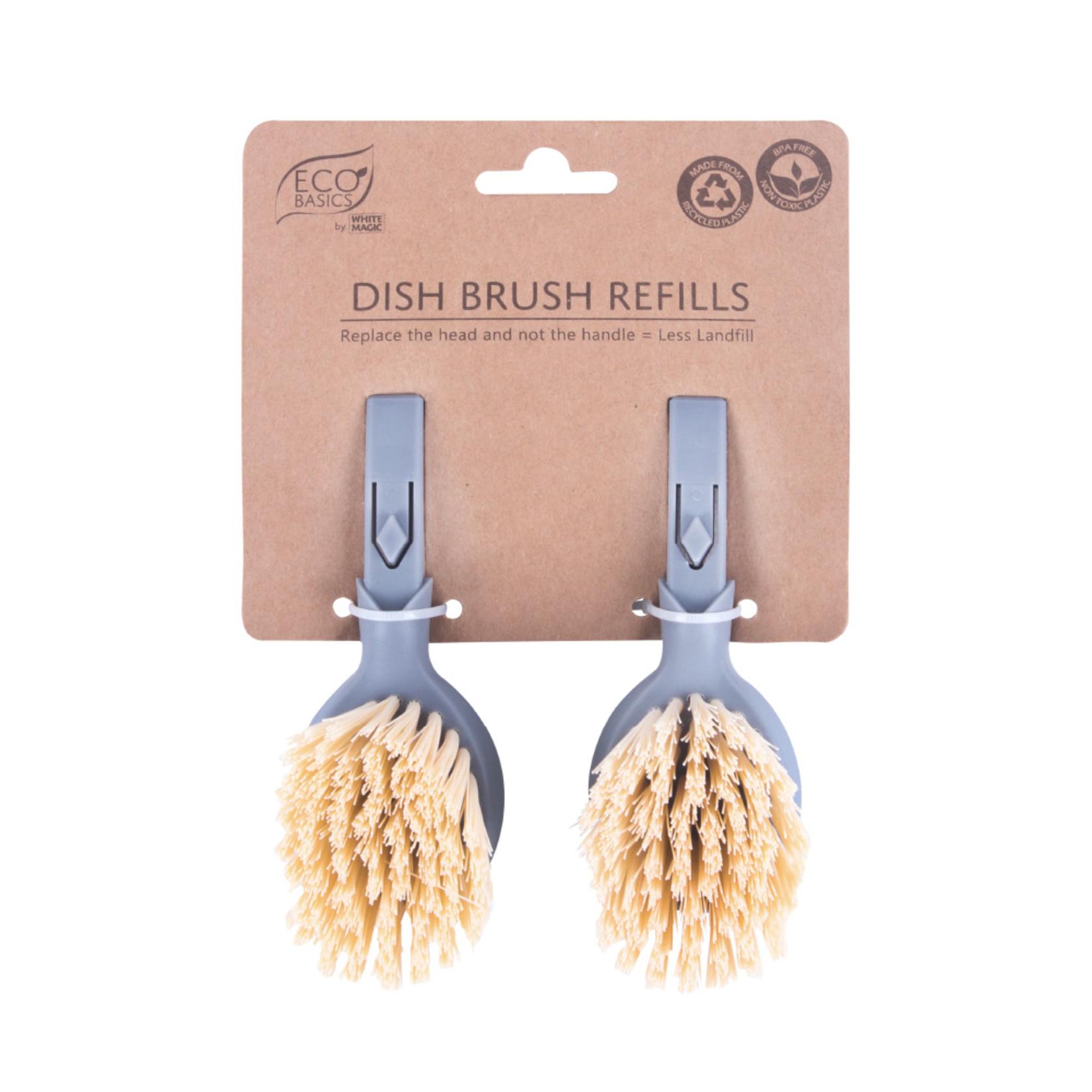 Eco Basics Eco Basics Dish Brush Refills 2pk