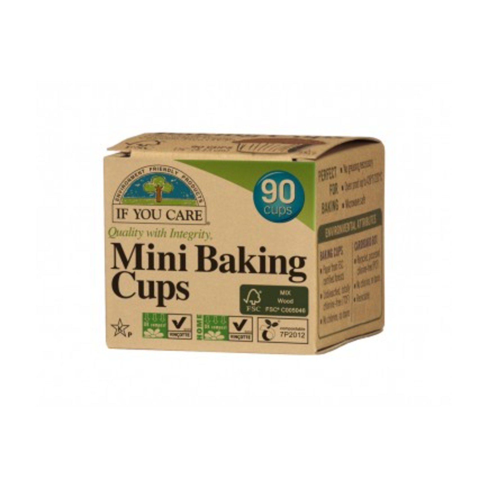 If You Care if You Care Baking Cups Mini 90pk