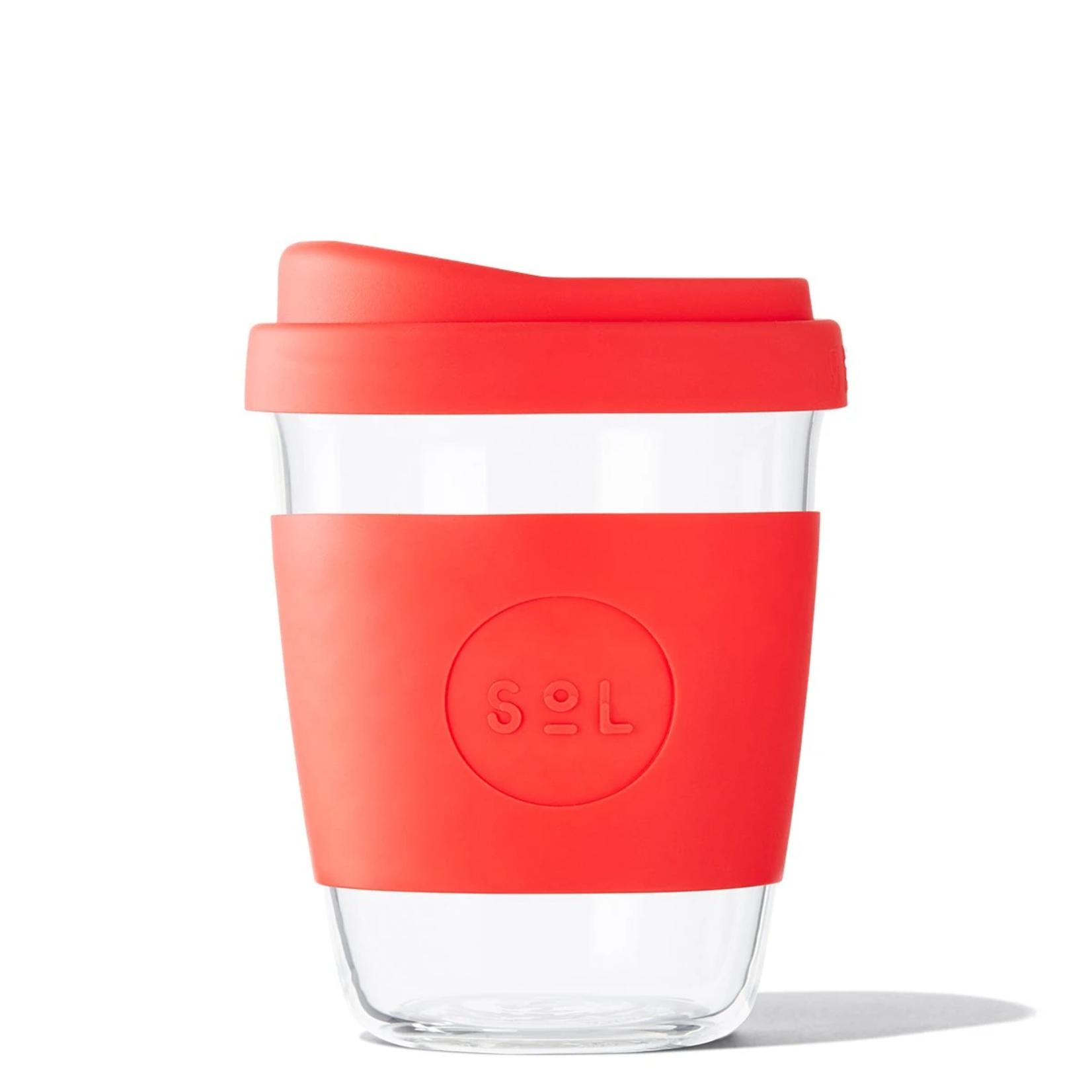 SOL Sol Reusable Glass Cup 12OZ