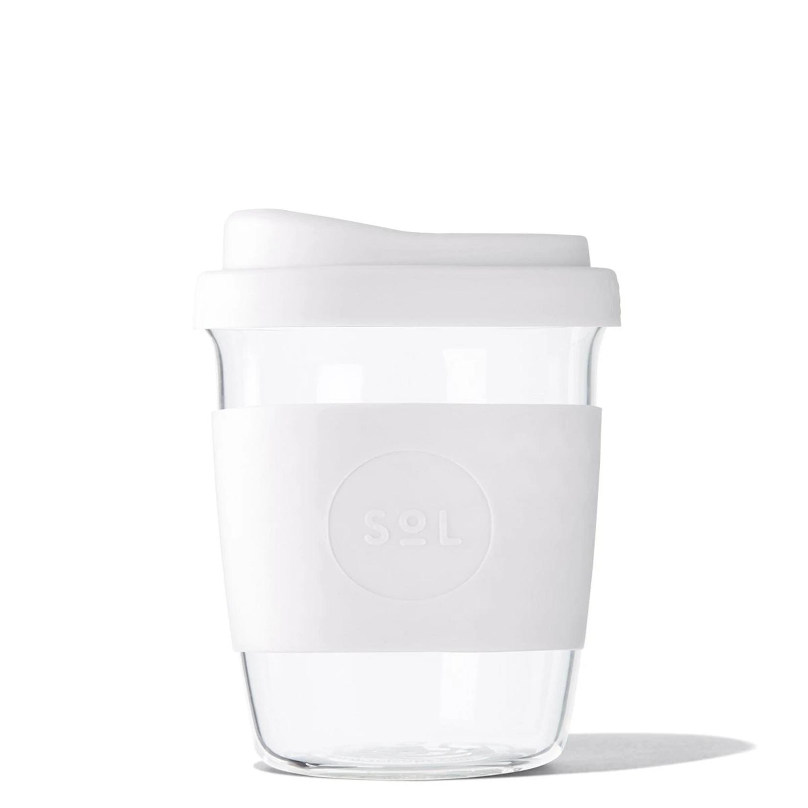 SOL Sol Reusable Glass Cup 8OZ
